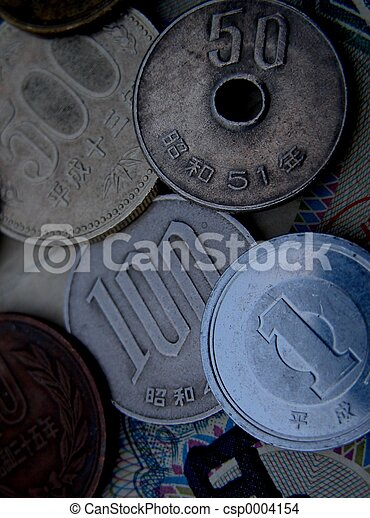 Jaanese coins - csp0004154