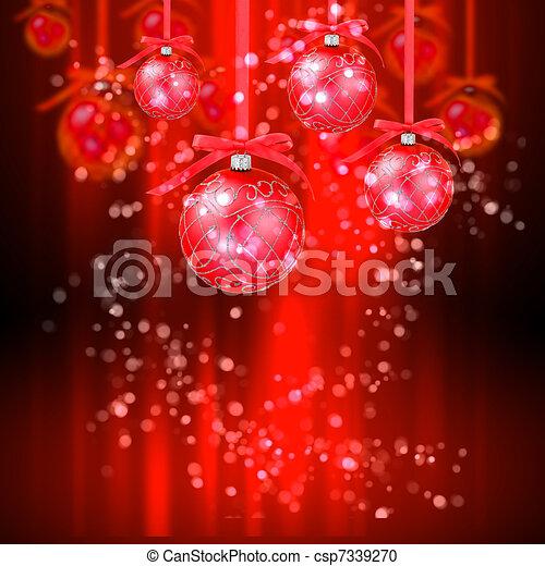 jaarwisseling, kerstmis, feestdagen - csp7339270