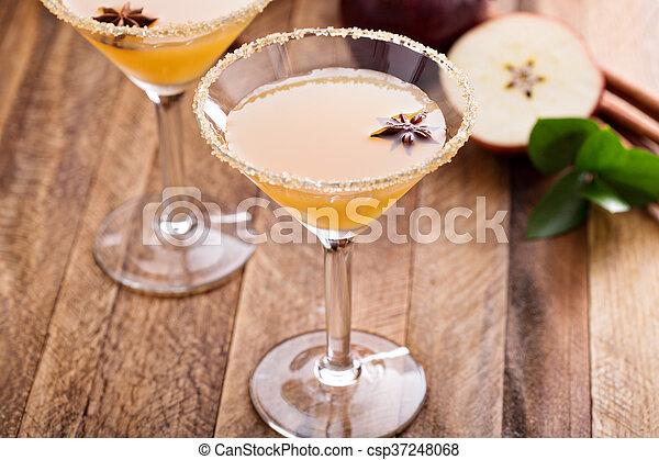 jabłecznik, anyż, gwiazda, jabłko, martini - csp37248068