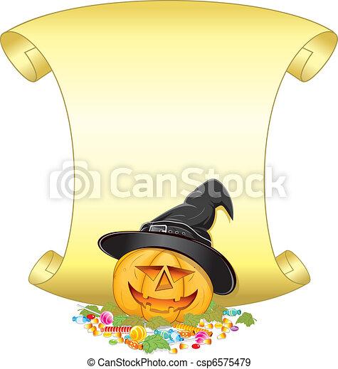 Jack O Lantern - csp6575479