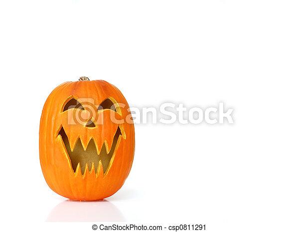 Jack O Lantern Pumpkin - csp0811291