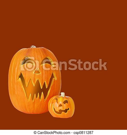 Jack O Lantern Pumpkins - csp0811287