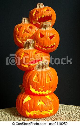 Jack O Lanterns - csp0110252
