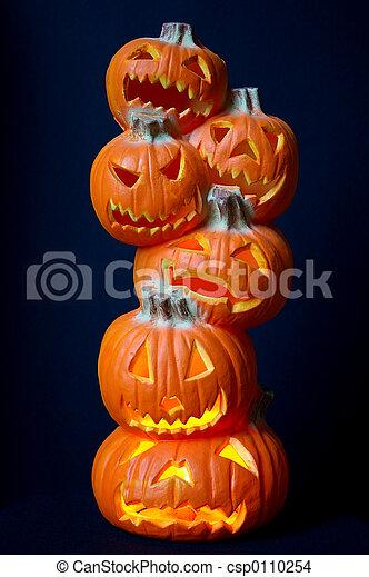 Jack O Lanterns - csp0110254