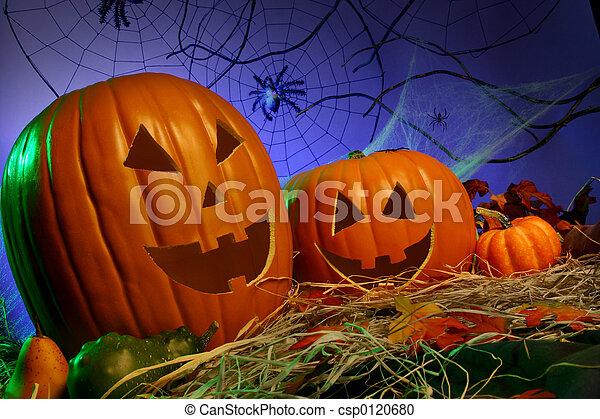Jack-o-lanterns - csp0120680