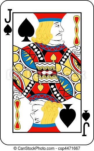 jack of spade card  jack of spades