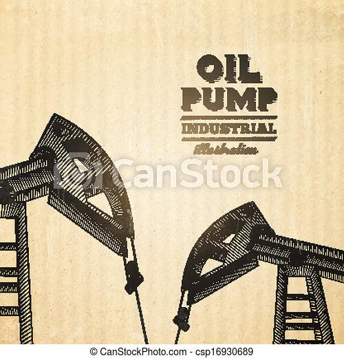 jack., pumpa, olaj - csp16930689