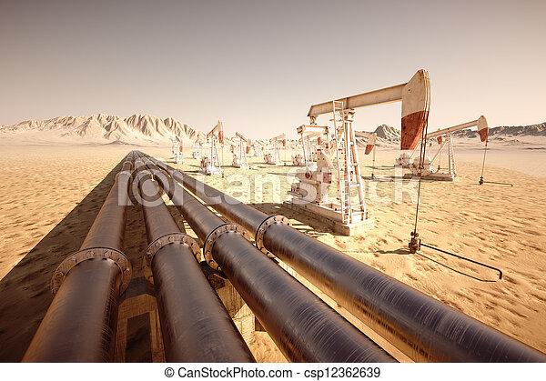 jack., pumpa, olaj - csp12362639