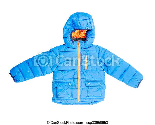 jacket isolated on white - csp33958953