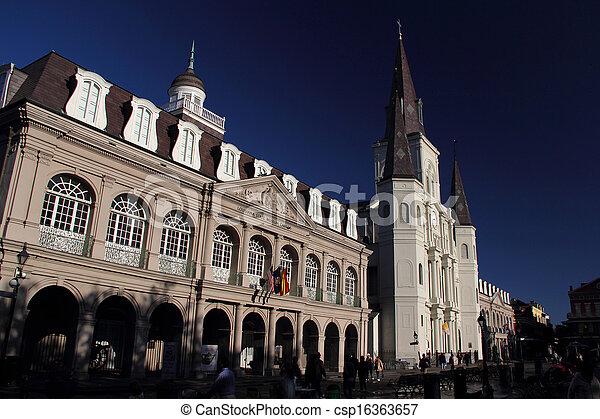Jackson Square Historic Buildings - csp16363657