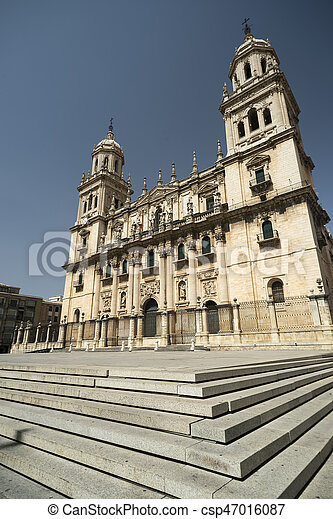 Jaen (Andalucia, Spain): cathedral