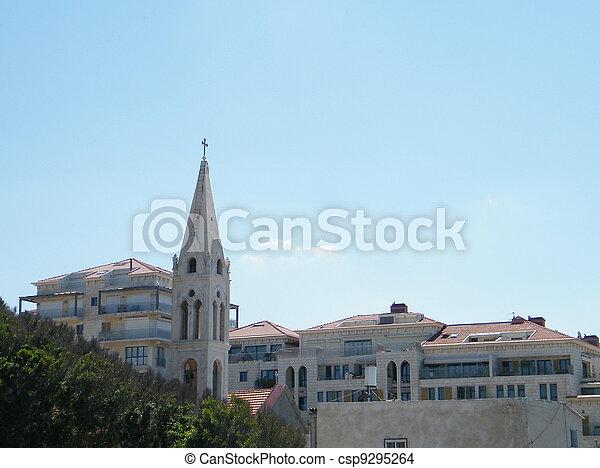 jaffa, 2011, アルメニア人, 教会 - csp9295264