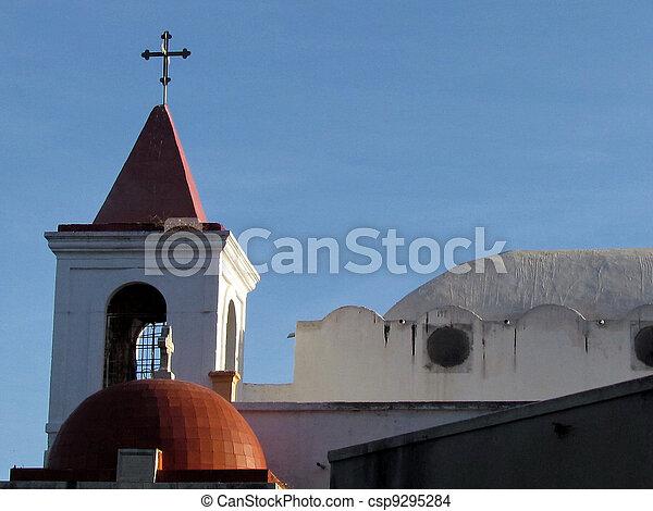 jaffa, 2011, 教会, coptic - csp9295284
