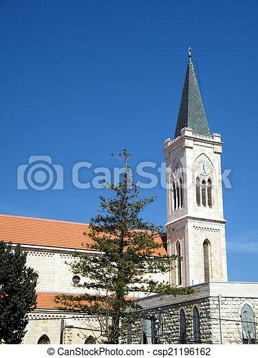jaffa, franciscan, st. 。, アンソニー, 教会, 2011, 光景 - csp21196162