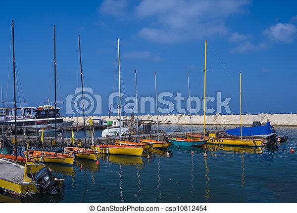 Jaffa port - csp10812454
