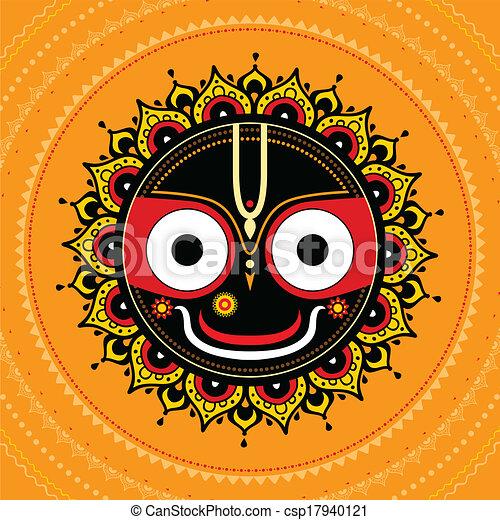 Jagannath. Indian God of the Universe. - csp17940121