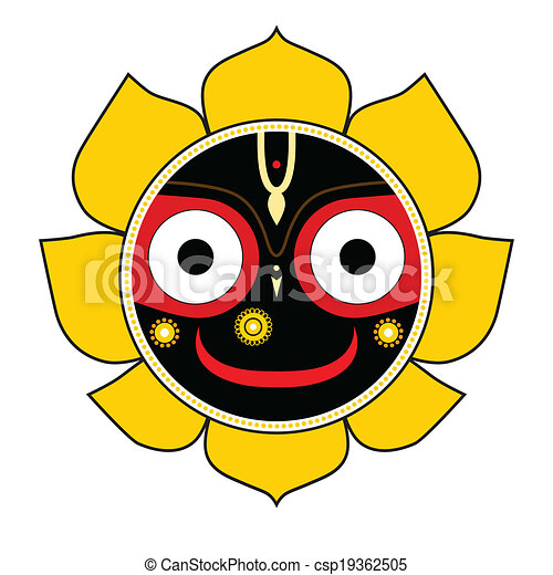 Jagannath. Indian God of the Universe. - csp19362505