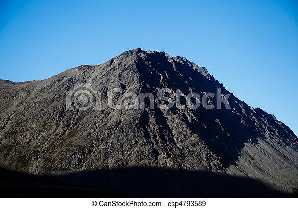 Jagged mountain - csp4793589