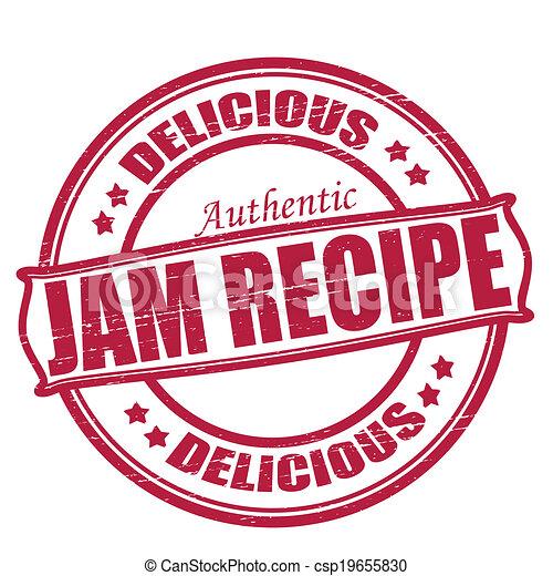 Jam recipe - csp19655830