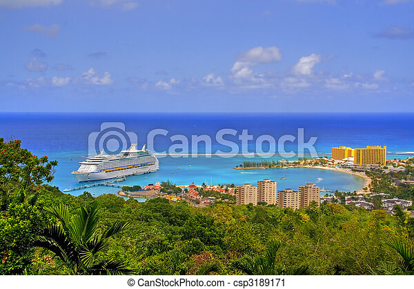 jamaïquain, vue - csp3189171