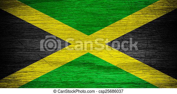 Jamaica flag - csp25686037
