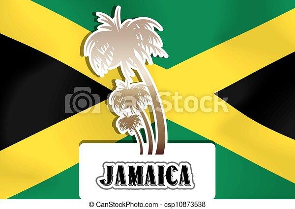 jamaika, abbildung - csp10873538