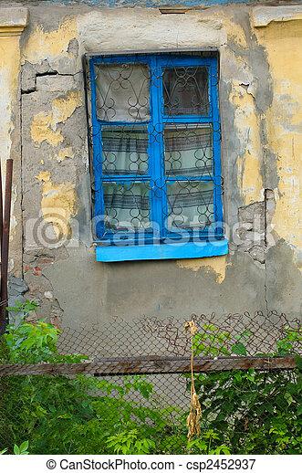 janela, antigas - csp2452937