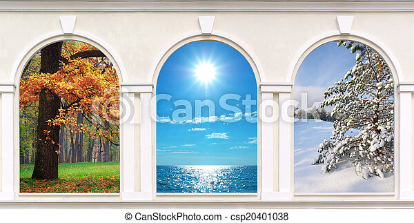 janelas, estações - csp20401038
