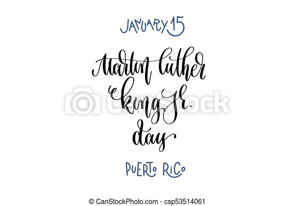 january 15 martin luther king jr day puerto rico hand