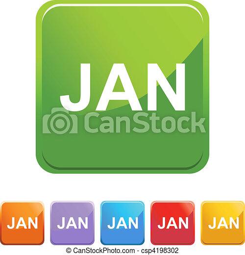 January - csp4198302