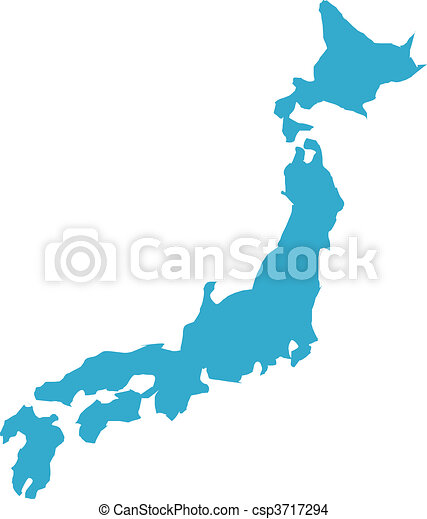 There is a map of japan country drawing - Search Clip Art ...
