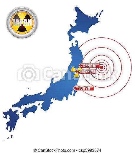 Japan Earthquake, Tsunami and Nuclear Disaster 2011 - csp5993574