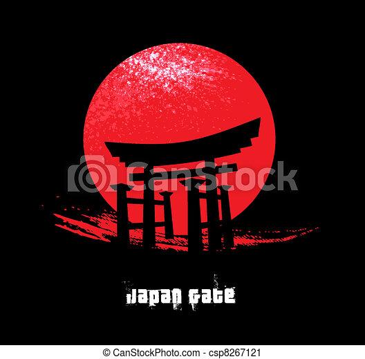 Japan Gate - csp8267121