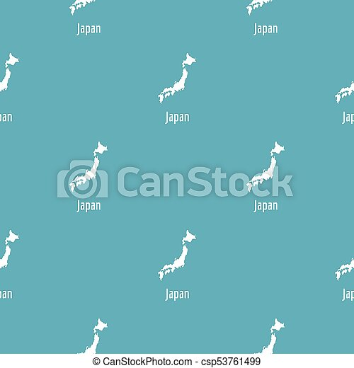 Japan map in black simple - csp53761499