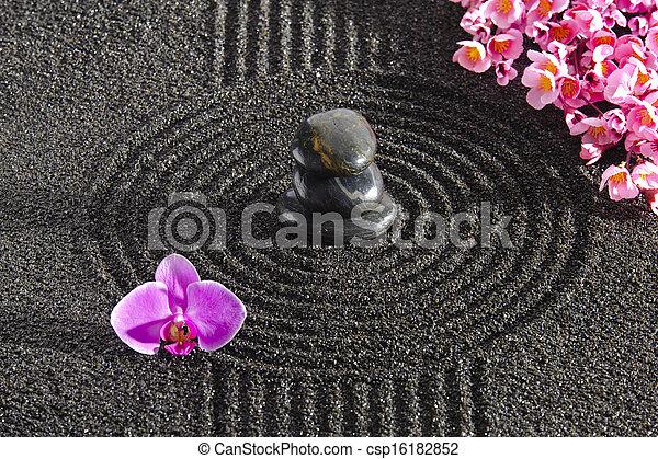 Japan ZEN garden - csp16182852
