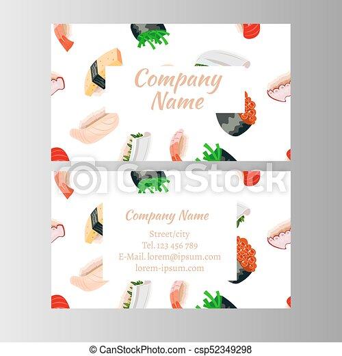 Japanese cuisine restaurant business card vector eps vectors japanese cuisine restaurant business card csp52349298 colourmoves