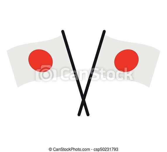 Japanese Flag Eps Vectors Search Clip Art Illustration - Japanese flag