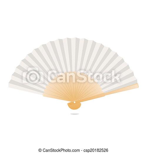 Japanese folding fan - csp20182526