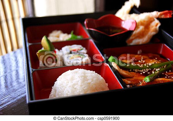Japanese food - csp0591900