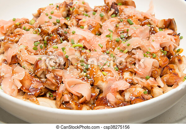 Japanese Food Style Teriyaki Chicken