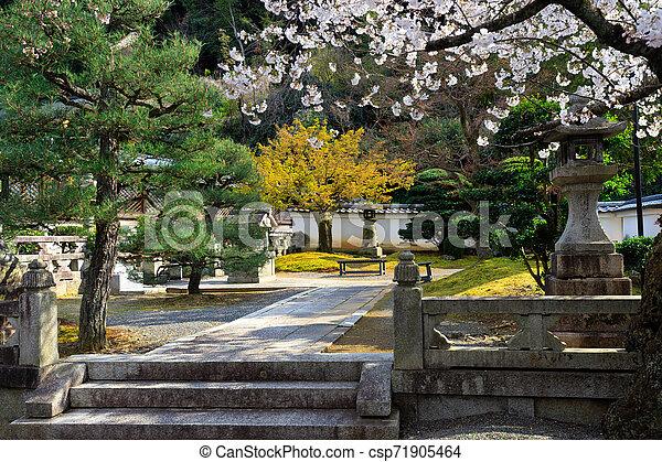 Japanese Garden At Spring Fresh Japanese Temple Garden At Spring
