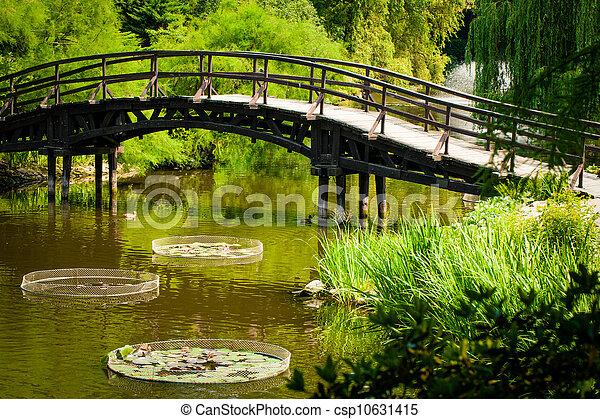 Japanese Garden Bridge - csp10631415