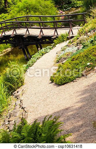 Japanese Garden Bridge - csp10631418