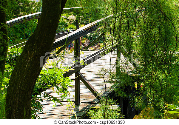 Japanese Garden Bridge - csp10631330