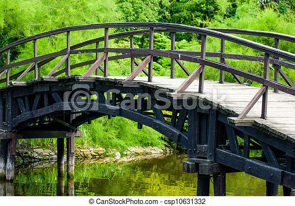 Japanese Garden Bridge - csp10631332