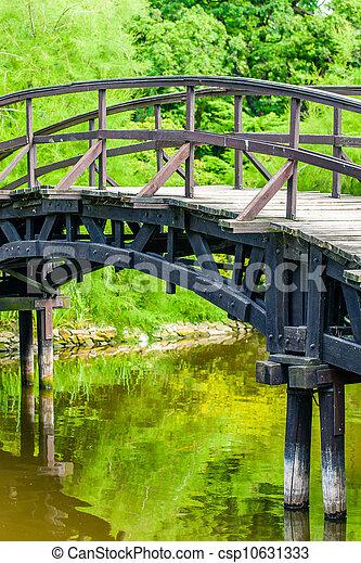Japanese Garden Bridge - csp10631333