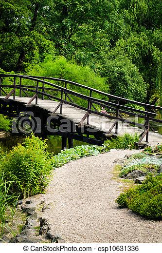 Japanese Garden Bridge - csp10631336