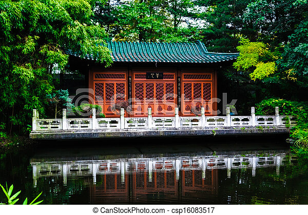 japanese garden - csp16083517