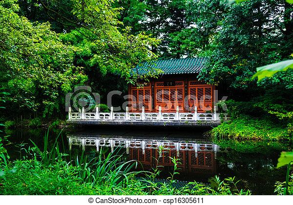 japanese garden - csp16305611