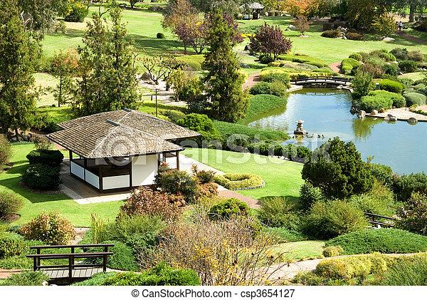 Japanese Garden - csp3654127